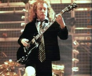 ac dc, angus young, and hard rock image