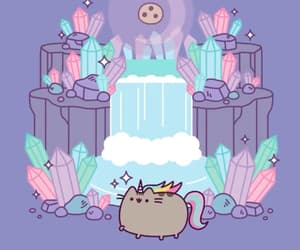 wallpaper, pusheen, and pusheen cat image