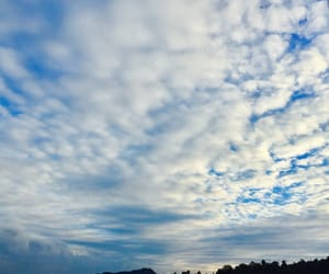 blue, clouds, and morning image