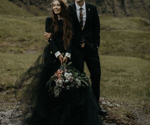black, bride, and couple image