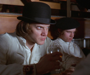 alex delarge, clockwork orange, and Malcolm McDowell image