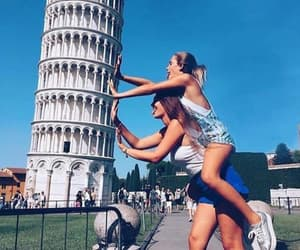 friends, italy, and bff image