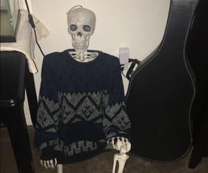 alternative, goth, and skull image