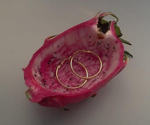 earrings, fruit, and jewelry image