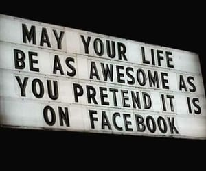 facebook, quotes, and life image