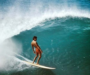 surf, waves, and boy image