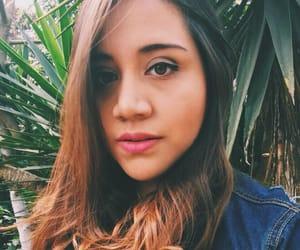 background, girl, and brunette image