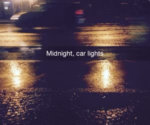 car and midnight image