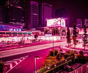 city, electric, and japan image