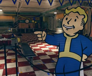 diner, leaving, and fallout 76 image