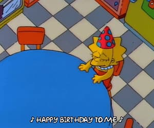 alone, birthday, and gif image