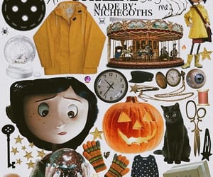 coraline, moodboard, and png image