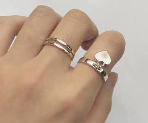 jewelry, aesthetic, and rings image