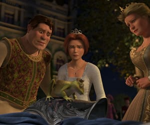 donkey, fiona, and prince charming image