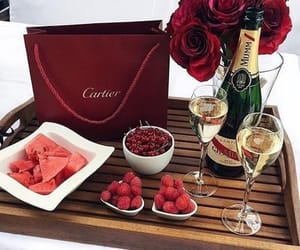 luxury, cartier, and red image