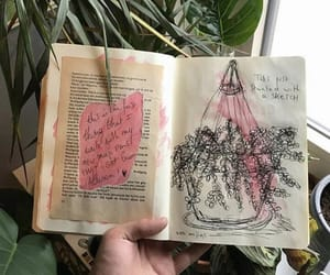 art, artsy, and diaries image