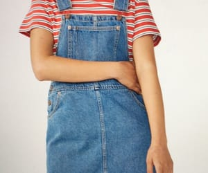 fancy, denim dress, and monki image