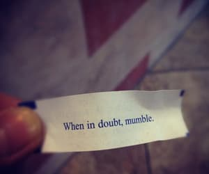 advice, fortune, and fortune cookie image