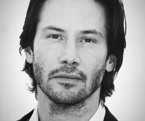 blackwhite and keanureeves image