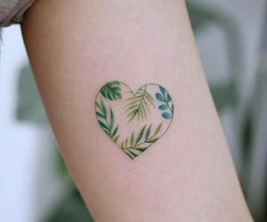 Tattoos, heart, and cute image