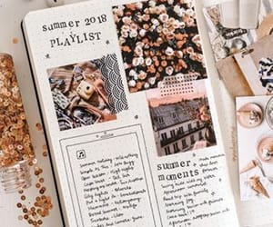 bullet journal, journaling, and bujo image