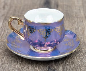 aesthetic, cup, and cup of tea image