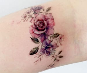 art, rose, and Tattoos image