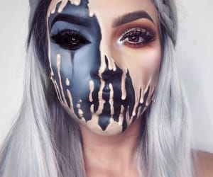 creepy, Halloween, and damon image