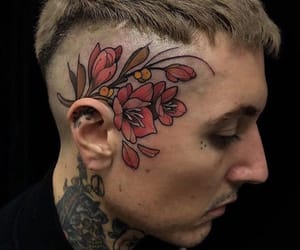 bmth, tattoo, and head image