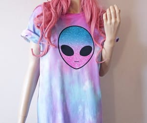 alien, aliens, and fashion blogger image