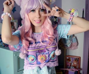 adorable, cute girl, and Harajuku image