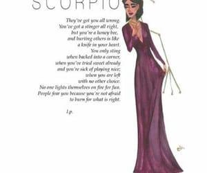 scorpio and zodiac sign image