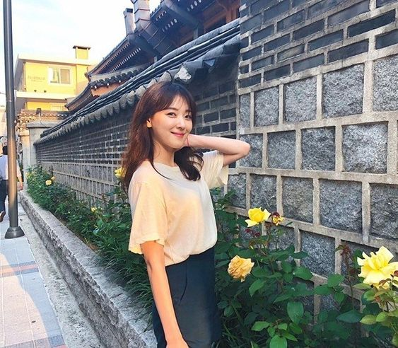 korean fashion, jo woo ri, and my id is gangam beauty image