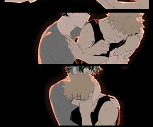 bl, bakudeku, and Boys Love image
