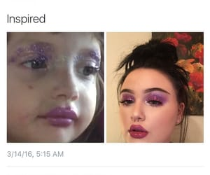 funny, makeup, and make-up image