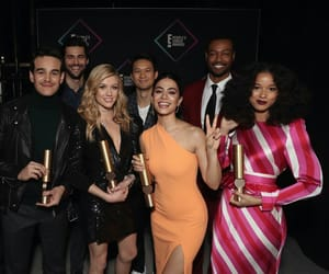 ShadowHunters Cast attending the 2018 People's Choice Awards