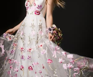 ball gown, beautiful, and bridal image