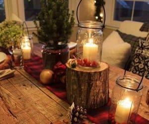 candle, cocooning, and home image