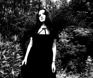 black, gothic, and bw image
