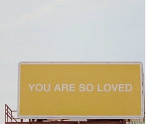 love, yellow, and quotes image