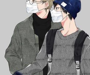 anime, haikyuu, and kageyama tobio image