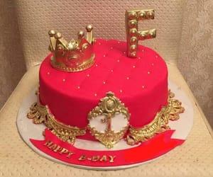 birthday, cake, and pasta image