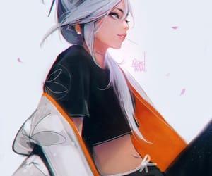anime, anime girl, and cool Girls image