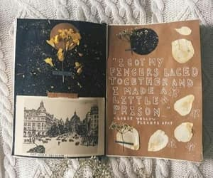 journal, art, and brown image