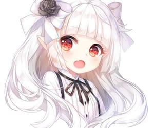 anime, anime girl, and candy image