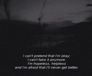feelings, sad, and words image
