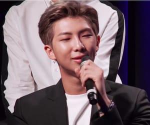 aesthetic, kim namjoon, and lq kpop idols image