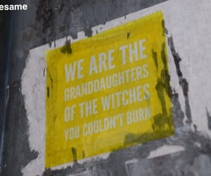 street art, yellow, and Witches image