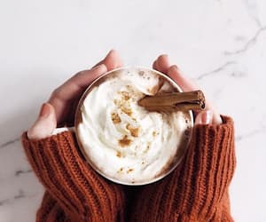 autumn, Cinnamon, and coffee image