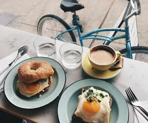 bagels, breakfast, and delicious image